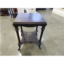 ANTIQUE PAW FOOT HALL STAND
