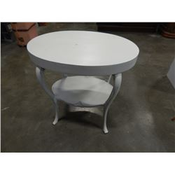 WHITE PAINTED HALL TABLE