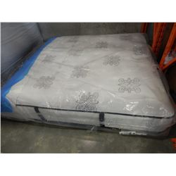 KING SIZE STEARNS AND FOSTER NORTH HAMPTON LUXURY FIRM MATRESS, FLOOR MODEL