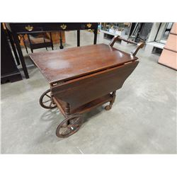 DROP LEAF TEA TROLLEY