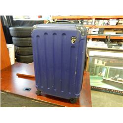HEYS PURPLE HARD SIDE SUITCASE