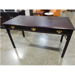 MAHOGANY 3 DRAWER DESK