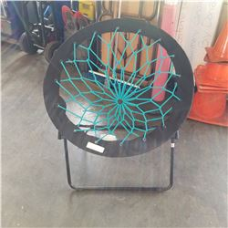 FOLDING ELASTIC SLING CHAIR