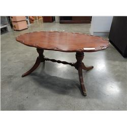 DUNCAN PHYFFE OVAL COFFEE TABLE