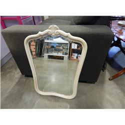 ANTIQUE BEVELLED SHIELD STYLE MIRROR