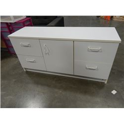 WHITE 4 DRAWER SERVER