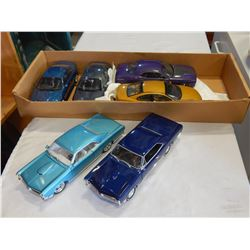 6 DIE CAST CARS