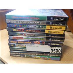 11 GAMECUBE GAMES