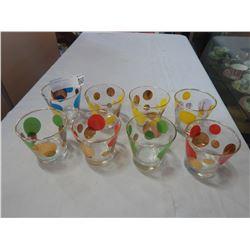 MID CENTURY GLASSES