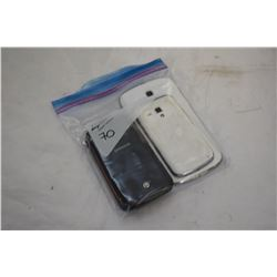 SAMSUNG GALAXY PLAYER, 2 SAMSUNG RUGBYS, AND SAMSUNG GALAXY SMART PHONES PARTS ONLY, NOT GURANTEED T