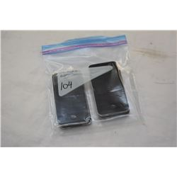4 APPLE IPHONE 4 BLACK PARTS ONLY, NOT GURANTEED TO WORK, MAY BE LOCKED