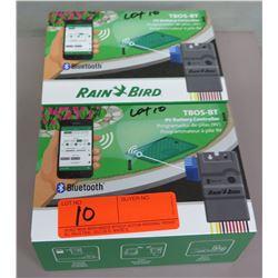 Qty 2 Boxes Rain Bird Bluetooth 2 Station Control  Modules TBOS-BT2