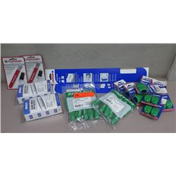 Multiple Rain Bird Rotortools, Christy's Slick-Wrap Pipe Repair Kits, Sharpening Tools, etc
