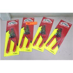 Qty 4 New Gorilla Wire Strippers #46515