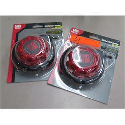 Qty 2 Pkgs New Gardner Benter 15' Mini Cable Snakes EFT-15