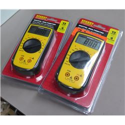 Qty 2 Pkgs Sperry Instruments Digital Multimeter 13 Ranges 4 Function DM6200