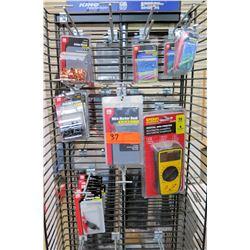 Multiple Misc Sperry Digital Multimeters, GB Wire Marker Books, Crimp & Butt Splice, etc
