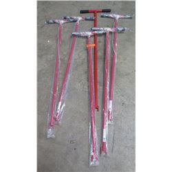 Qty 6 Red 48  Sprinkler & Valve Keys