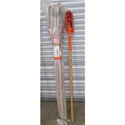 """Qty 6 Corona Heavy Duty 4"""" Trench Shovels SS64304"""