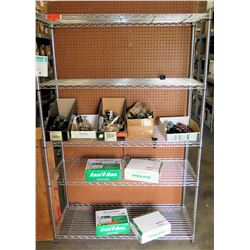 4 Tier Metal Wire Adjustable Shelf (Shelf Only)
