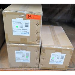 Qty 3 Cases Kichler 600W Contractor Series SS Transformers 15CS600 SS