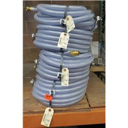 "Qty 4 Underhill UltraMax Hose 50' Length x 3/4"" Diameter"