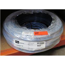 """Coil TORO Blue Stripe Round Hose 0.17"""" Dia x 1000' (305m) T-EHW0437-100"""