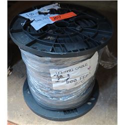 Spool 10 Stranded Lighting Cable 500' 2/C