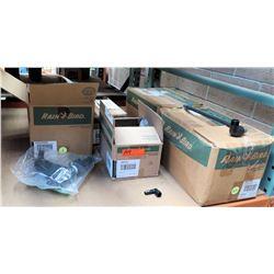 "Qty 4 Open Boxes Rain Bird SBE050 Elbow Spiral, XCZF100PRF 1"" Control Zone Kit, etc"