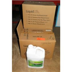 Qty 4 Boxes of 4ea LiquidLife American Hydro Grass So Green All Purpose Blend 7-7-7