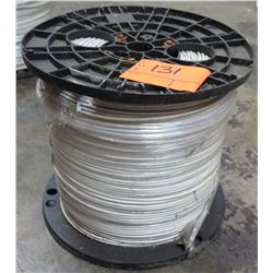 Spool PE 12 AWG Solid White 2500' Cable