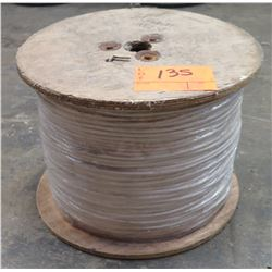 Spool Solid White Cable