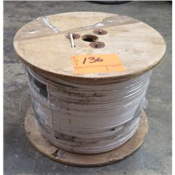 Wood Spool Paige Wire White