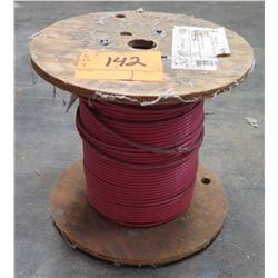 Partial Wood Spool Cable THHN-6_Black 1000' T-90 Nylon TWN75MTW