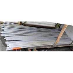 "Multiple Misc 10' Long x 1-1.5"" Gray Cresline SCH 40 Electrical Rigid PVC Conduit"