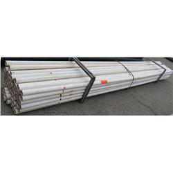 "Multiple Misc 20' Long x 2.5-3"" White PW Eagle IPS 125 PSI 73 PVC Pipe"