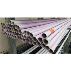"""Multiple Misc Size 20' Long x 2.5-3"""" IBS PVC Pipe Reclaimed Water"""
