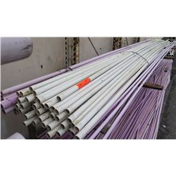 """Multiple 20' Long x 1-1/4"""" IPS 160 PSI 73F PVC Pipes Reclaimed Water"""
