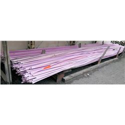 """Multiple Misc 20' Long x 1"""" ANSI/NSF 61 PVC Pipes Reclaimed Water"""