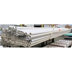 "Multiple Misc 20' Long x 2-2.5"" JM Eagle & Cresline IPS PVC 1120 SDR 21 Pipe"