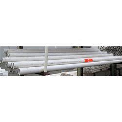 "Multiple Misc 10' Long x 3"" Diameter JM Eagle 90 PVC Sewer Pipe ASTM 02729"
