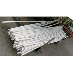 "Multiple Misc 20' Long x 1"" Diameter JM Eagle IPS PVC 1120 SDR 21 200 PSI Pipes"
