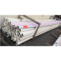 """Multiple Misc 20' Long x 3"""" Diameter PW Eagle IPS 200PS PVC Pipes Reclaimed Cold Water"""