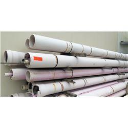 "Multiple Misc Size 20' Long x 10-13"" Diameter PVC Pipe"