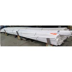 "Multiple Misc 20' Long x 1/2"" Diameter JM Eagle JM90 IPS ASTM D2241 PVC Pipe"