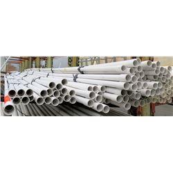"Multiple Misc 20' Long x 1-1/4"" Diameter JM Eagle & Cresline IPS PVC 1120 370PSI Pipe"