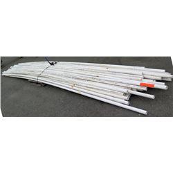 """Multiple Misc 20' Long x 1-1/2"""" Diameter Cresline IPS PVC SDR 21 Pipe"""