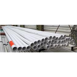 "Multiple Misc 20' Long x 1-1/2"" Diameter JM Eagle PVC 1120 SDH 40 DW Pipe"