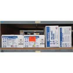 Qty 4 Boxes @ 20pcs Signature Control System Pro Series Rotors 6000 Pop-Up Gear Drive