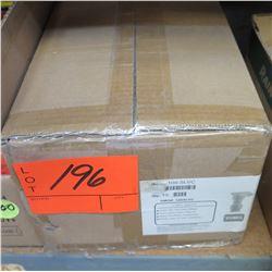 "Case of 10 TORO 1"" QCV Vinyl Lid 100-SLVC"